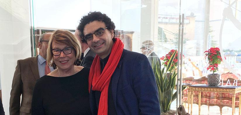 Ira Schwarz mit Rolando Villazón
